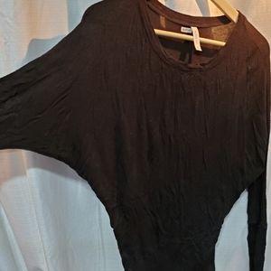 🌠2/20$ Bat wing black shirt